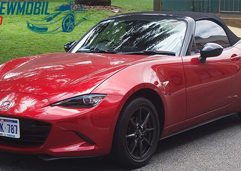Tampilan Sangar Pandangan Pertama Mazda MX-5